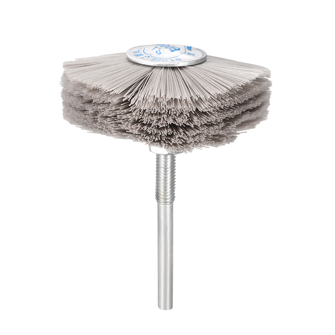Abrasive Nylon Wheel Brush 600 Grits with 1/4 inch Shank for Polish Grinder