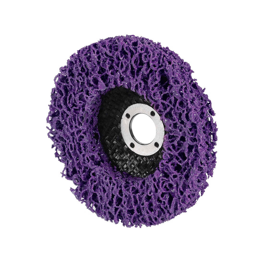 4 Inch Nylon Polishing Wheel Buffing Pad Felt Disc Purple