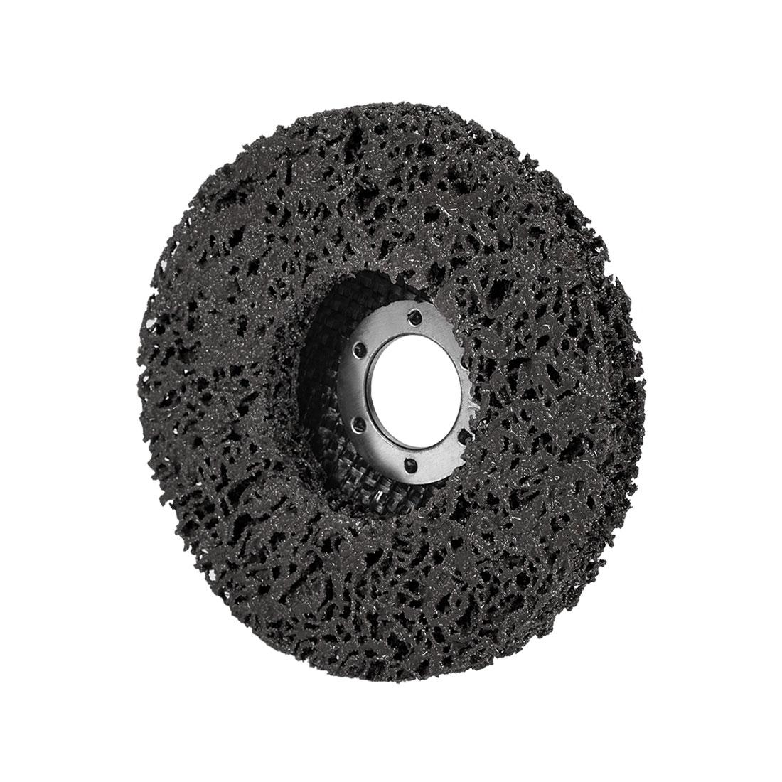4.5 Inch Nylon Polishing Wheel Buffing Pad Felt Disc Black