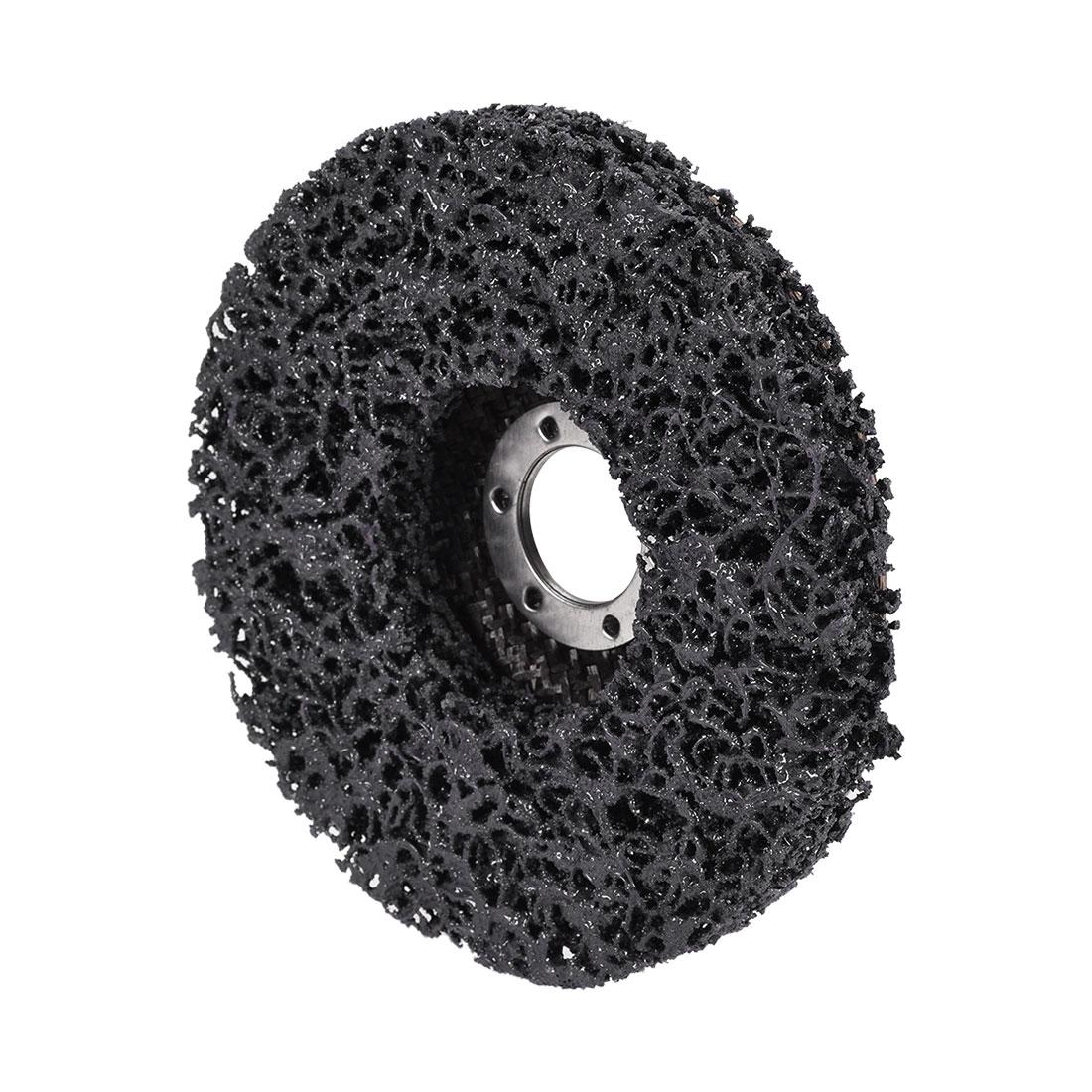 5 Inch Nylon Polishing Wheel Buffing Pad Felt Disc Black