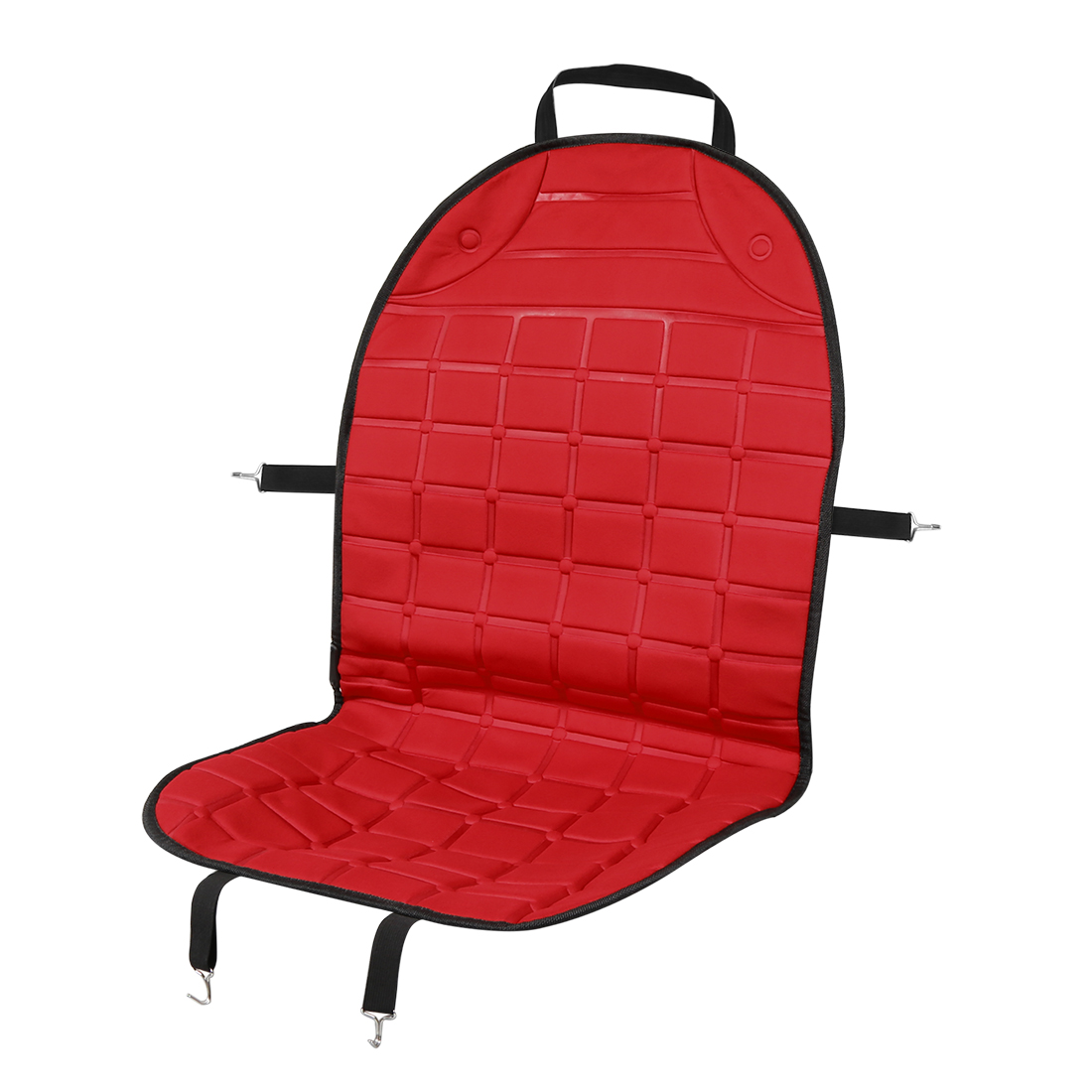 Universal DC 12V Heated Car Front Seat Heating Chair Cushion Warmer Pad Red