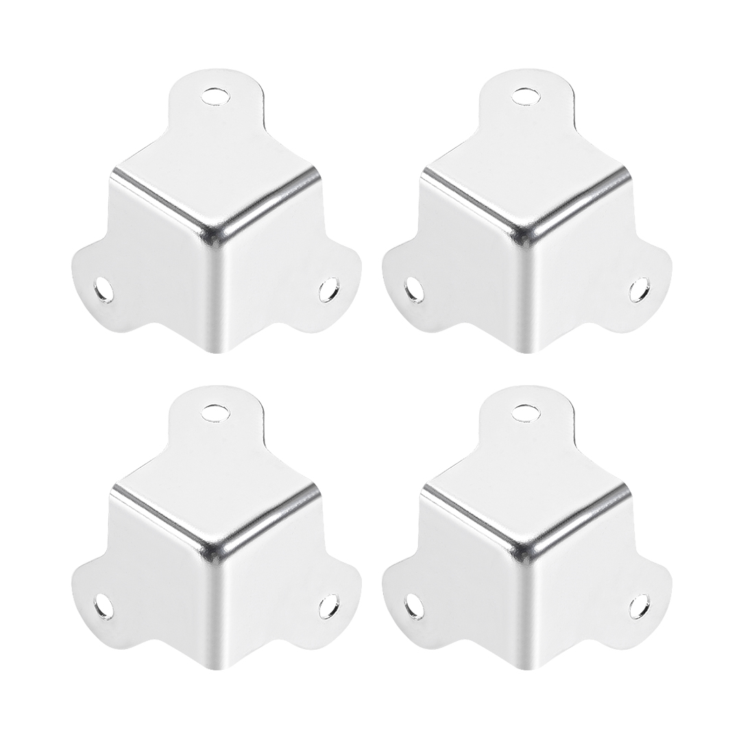 Metal Box Corner Protectors Edge Guard Protector 22.5mm x 22.5mm x 22.5mm 4pcs