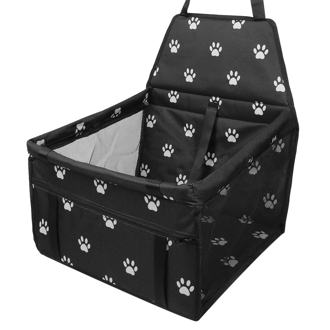 Car Auto Dog Front Seat Cover Dark Black Pet Seat Cover Protector