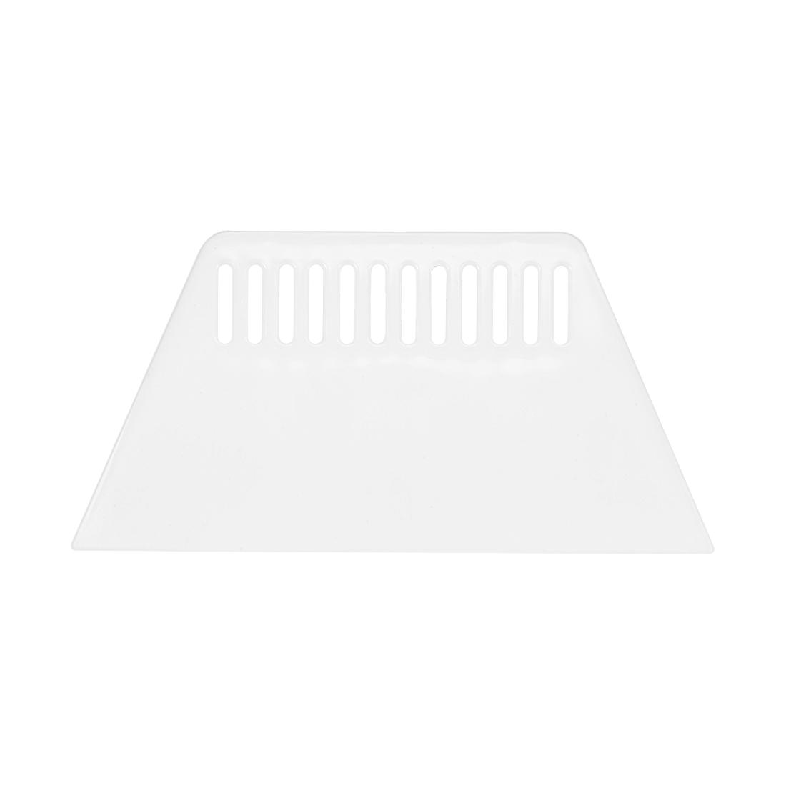 Plastic Scraper Large Putty Spatula Smooth Spread for Wall Paper Auto Windshield