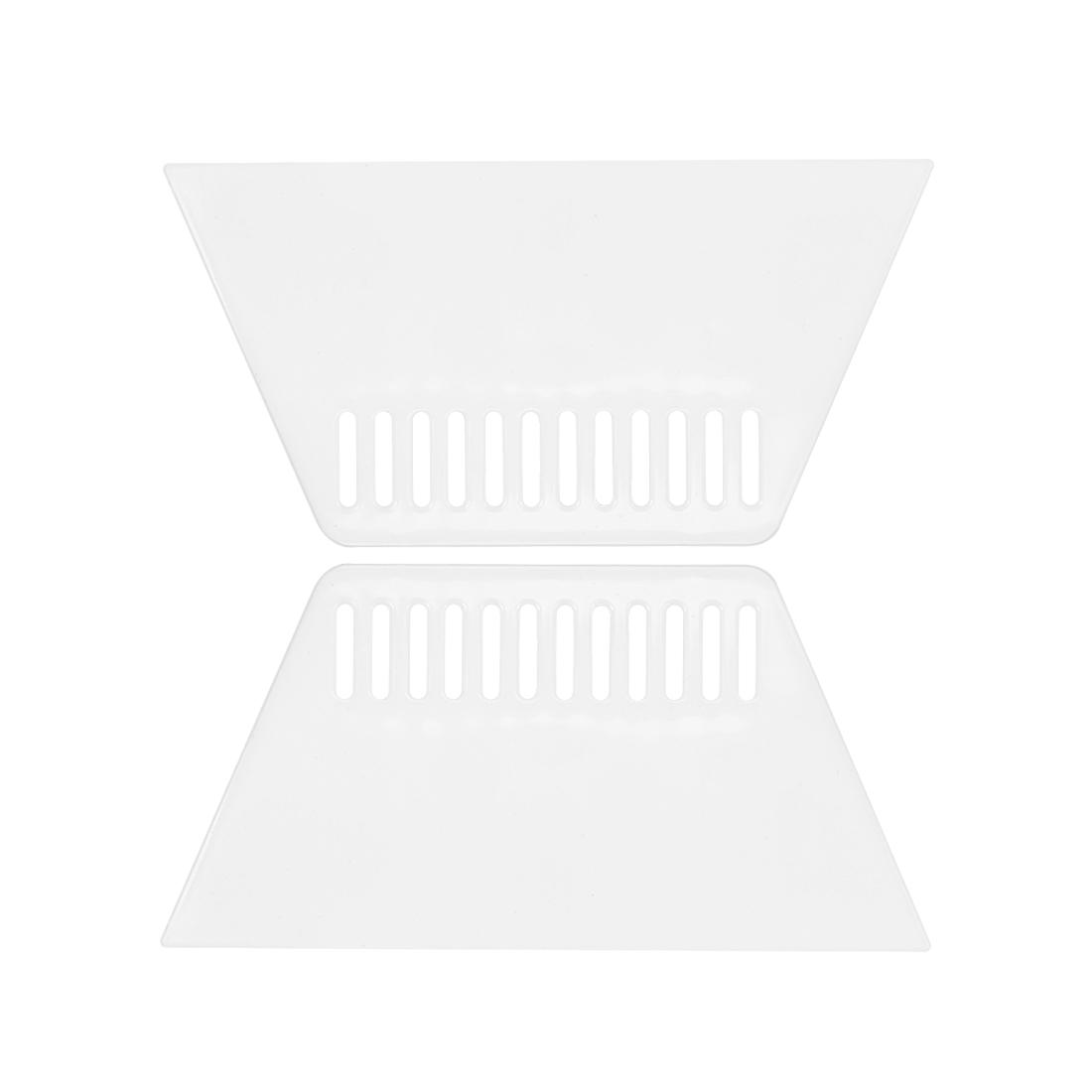 2x Plastic Scraper L Size Putty Spatula Smooth Spread Wall Paper Auto Windshield