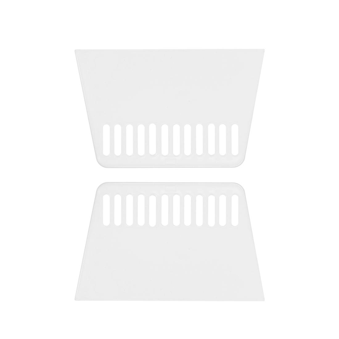 2x Plastic Scraper M Size Putty Spatula Smooth Spread Wall Paper Auto Windshield