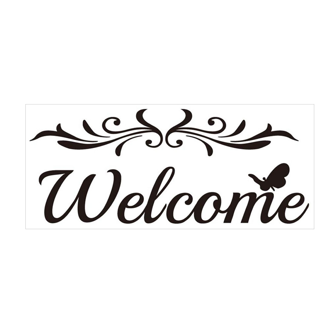 Welcome Wall Sticker Removable PVC Art Decals Door Home Office Decor