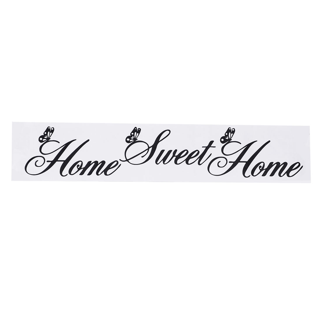 Sweet Home Wall Sticker Removable PVC Art Decals Door Home Office Decor