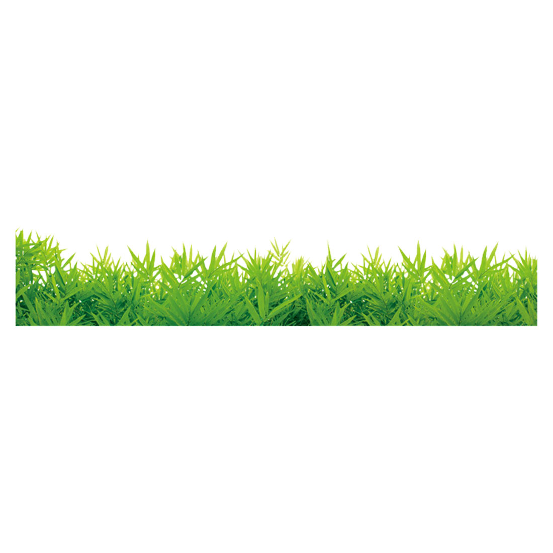 Grass Pattern Wall Sticker Self-stick Removable Decal for Living Room Bedroom