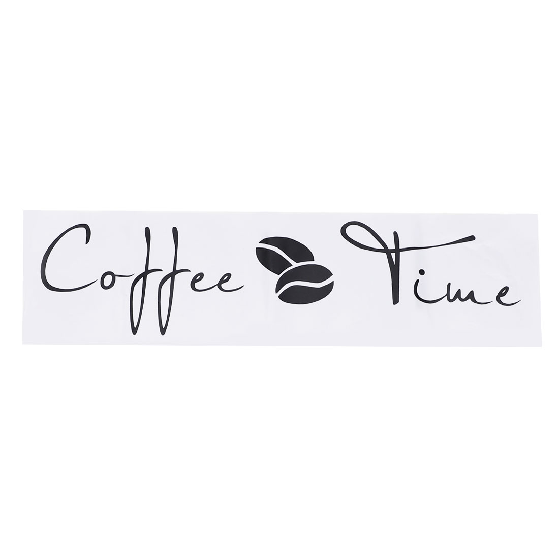 Letter Coffee Time Wall Sticker Self-stick Decal for Living Room Bedroom