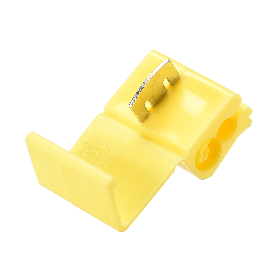 Wire Splice Connector Snap Wire Connector Yellow for 12-10 AWG 16 Pcs