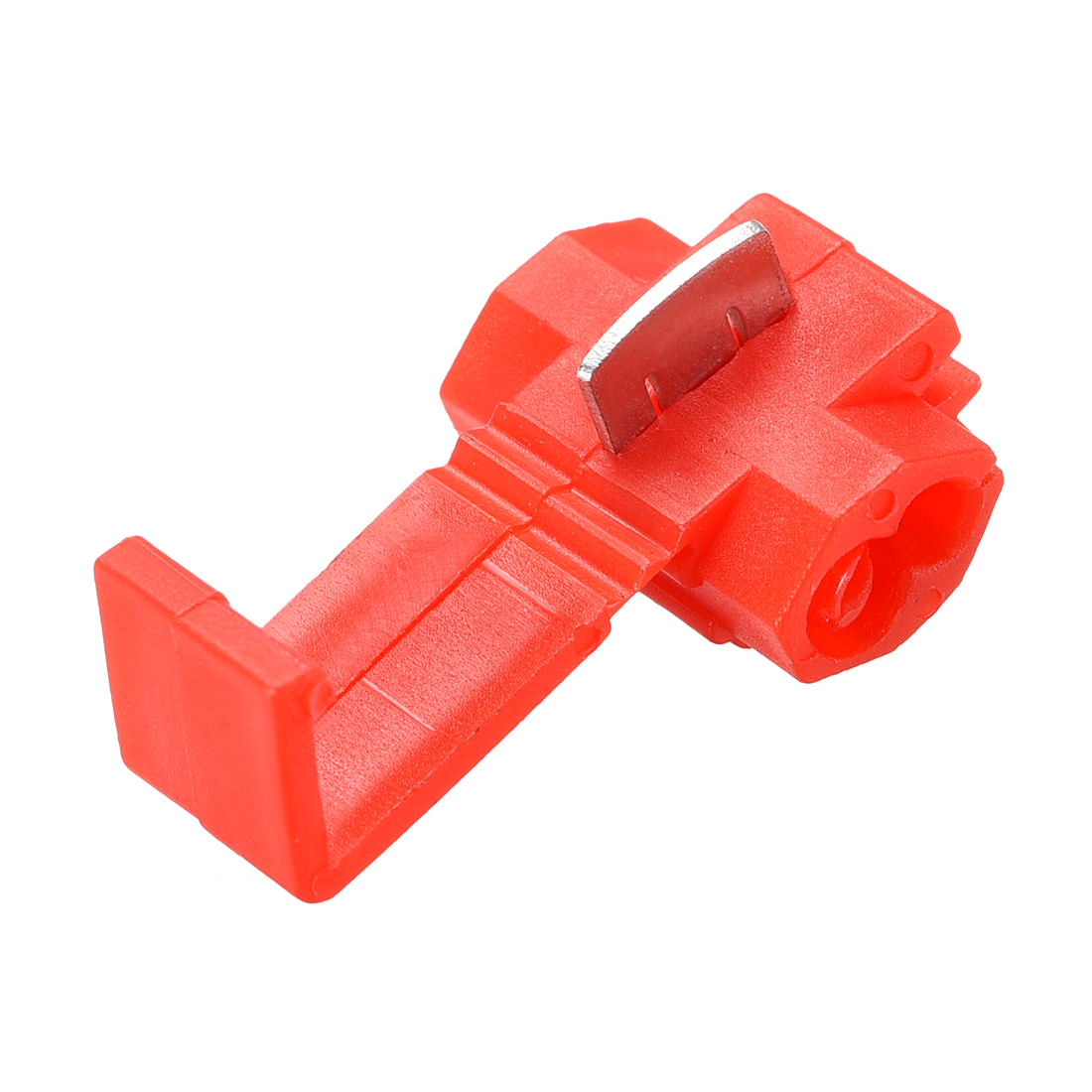 Wire Splice Connector Snap Wire Connector Red for 22-18 AWG