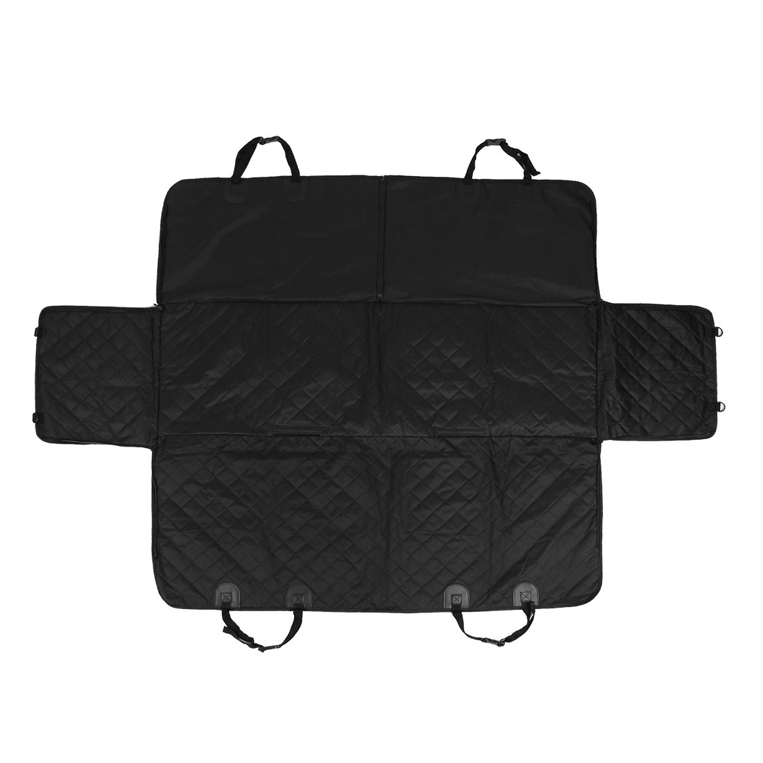 Dog Back Seat Cover Black Pet Waterproof Non-slip Protector Hammock for Car