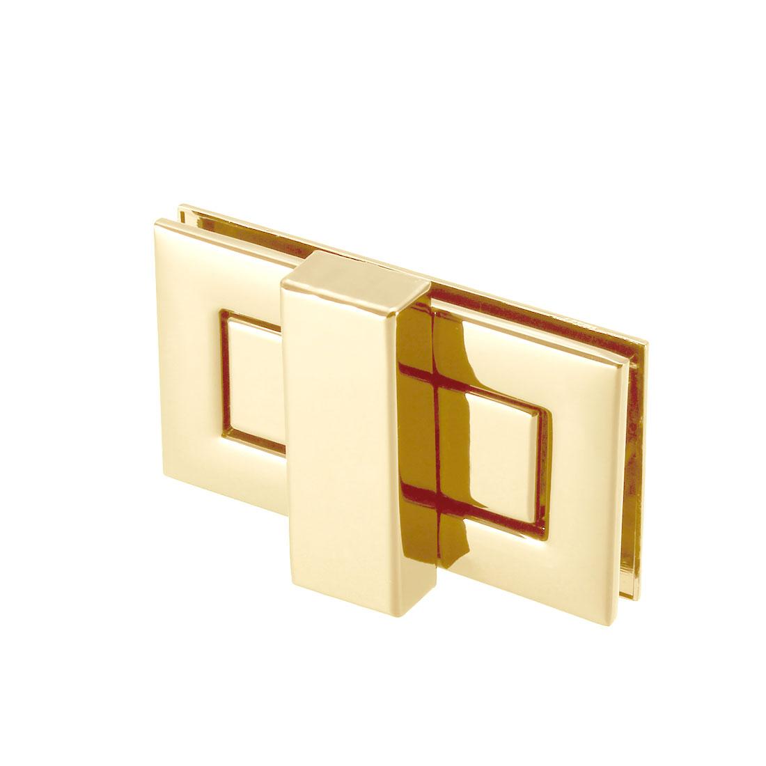 1 Set Rectangular Purses Twist Lock 52mm x 29mm Clutches Closures - Light Gold
