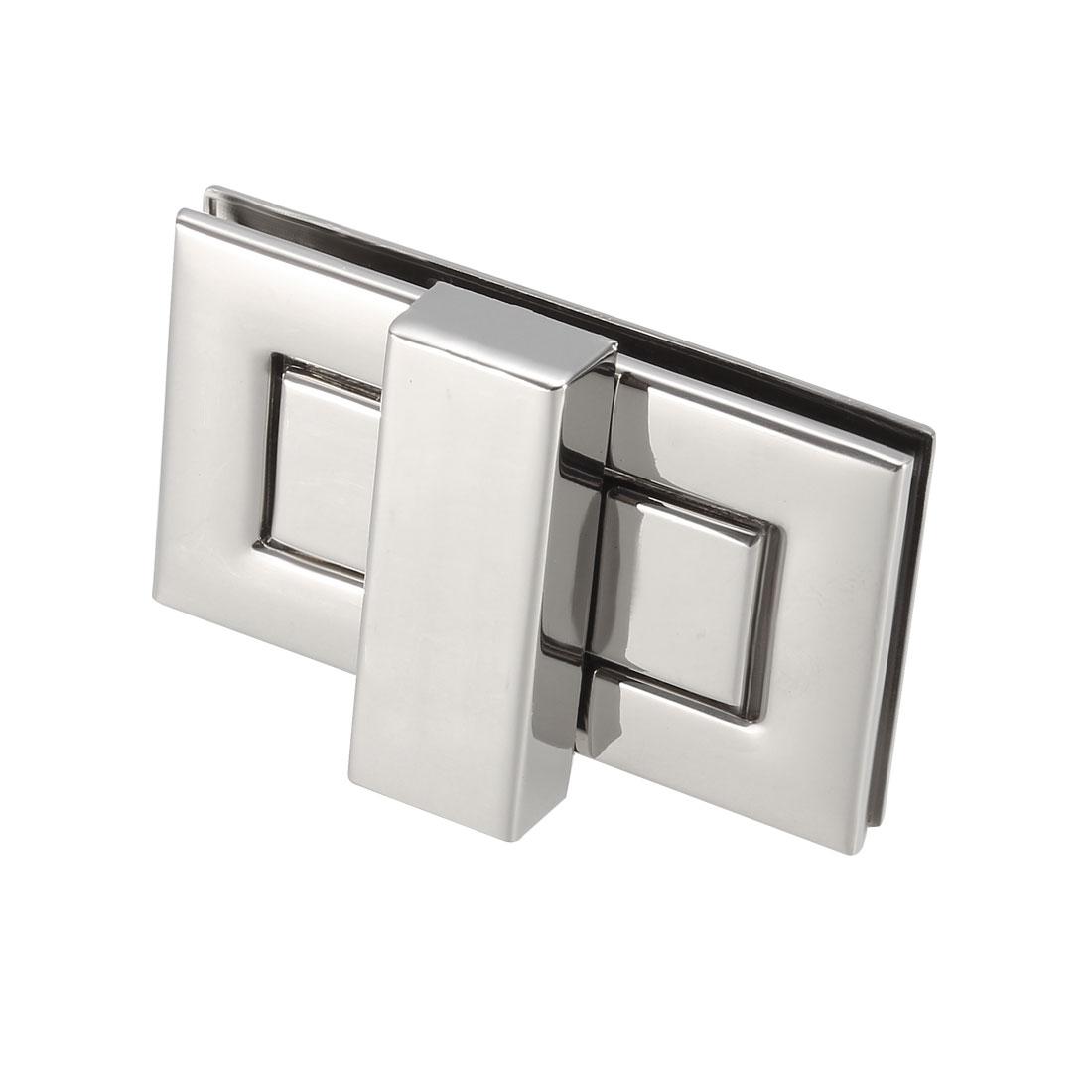 1 Set Rectangular Purses Twist Lock 52mm x 29mm Clutches Closures - Silver