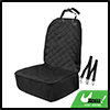 Universal Black Pet Front Seat Cover with Belt Protectors for Car SUV Truck