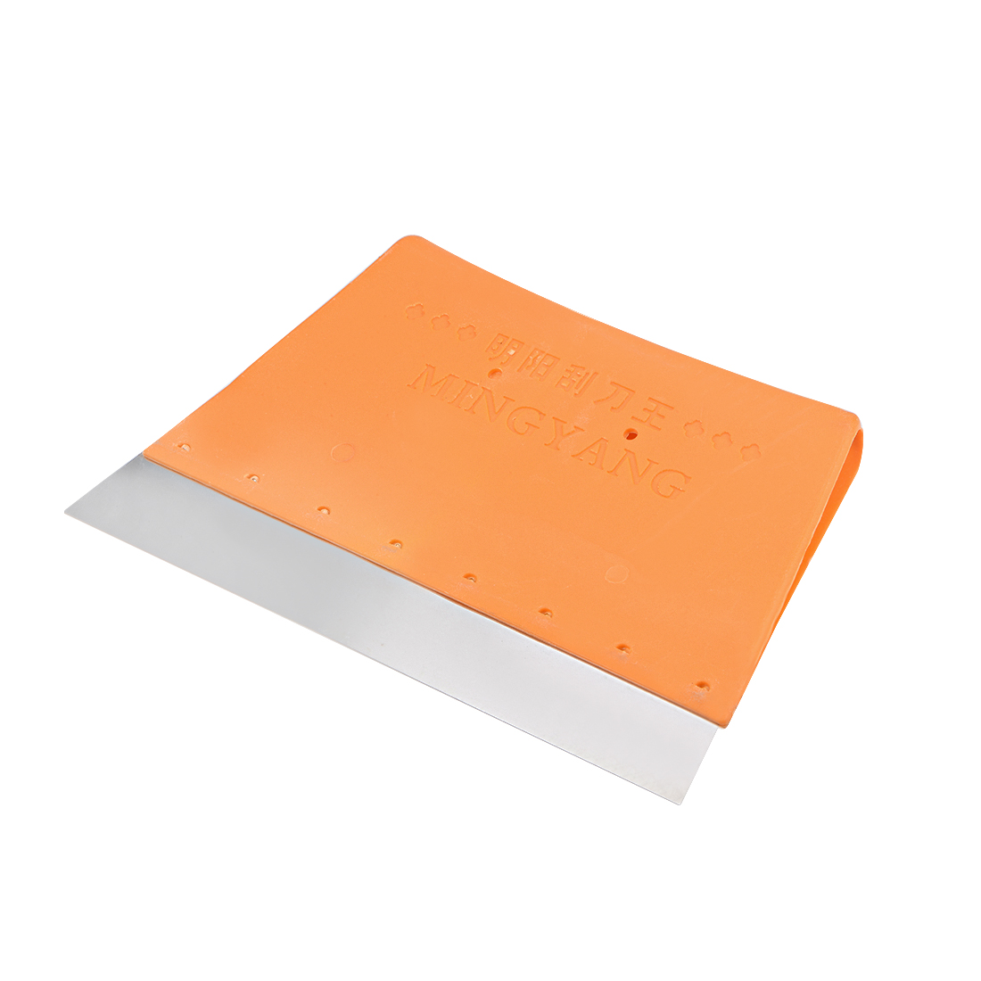 Scraper Board 195mm Long Carbon Steel Blade Plastic Handle for Surface Cleaning
