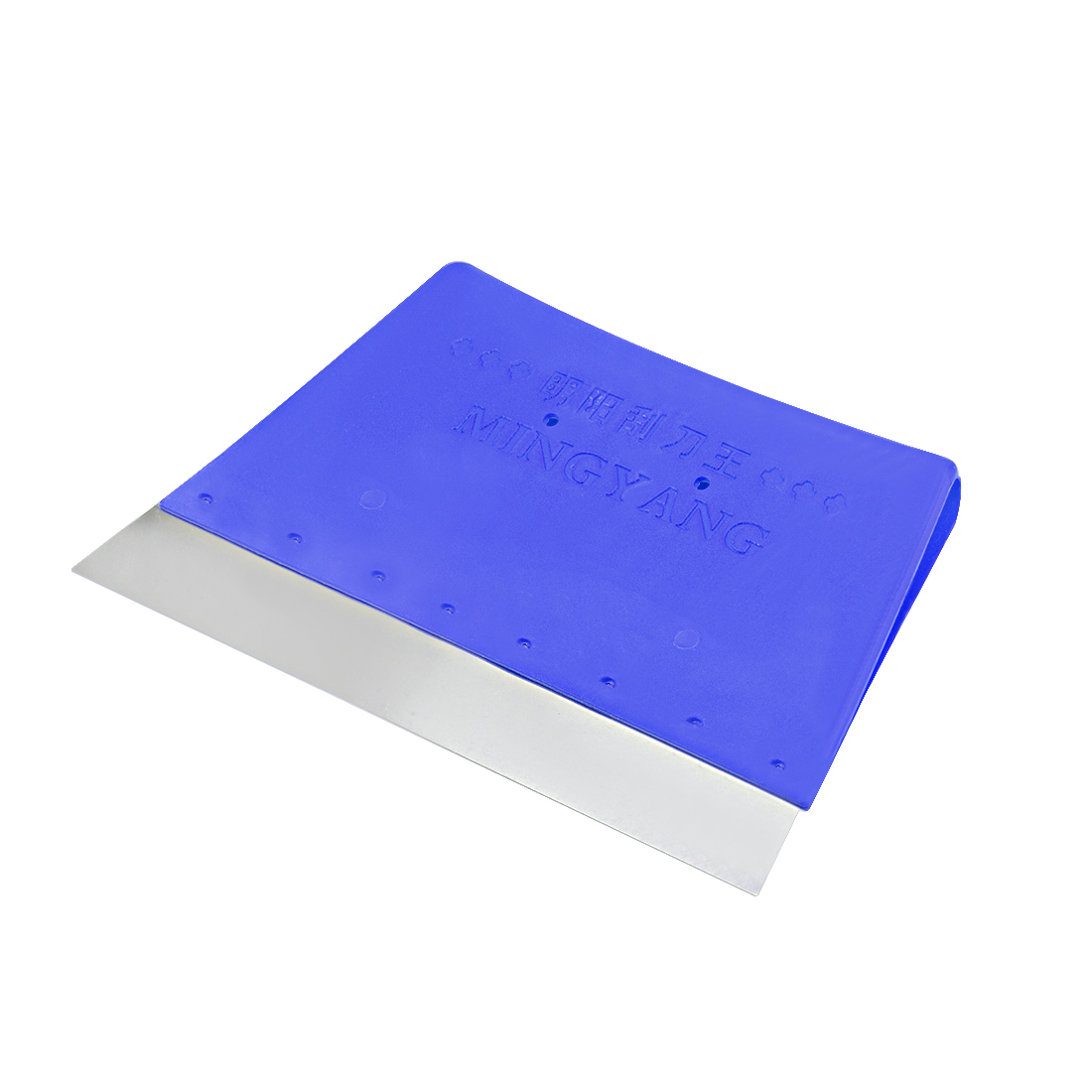 2x Scraper Board 165mm Carbon Steel Blade Plastic Handle for Surface Cleaning