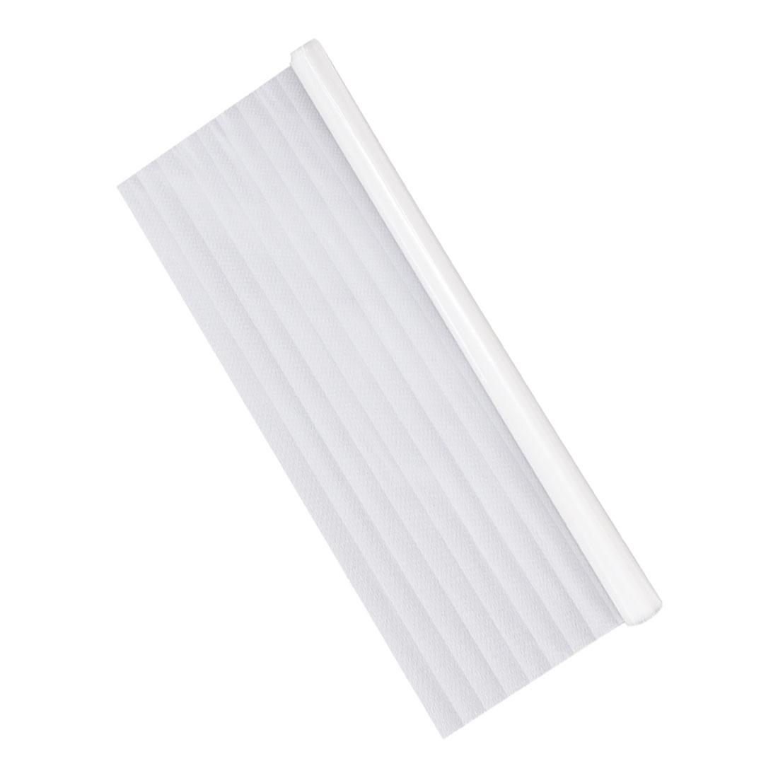 PVC 78.7 x 17.7 Inch Anti UV Window Film Sticker Non-spaced Blinds