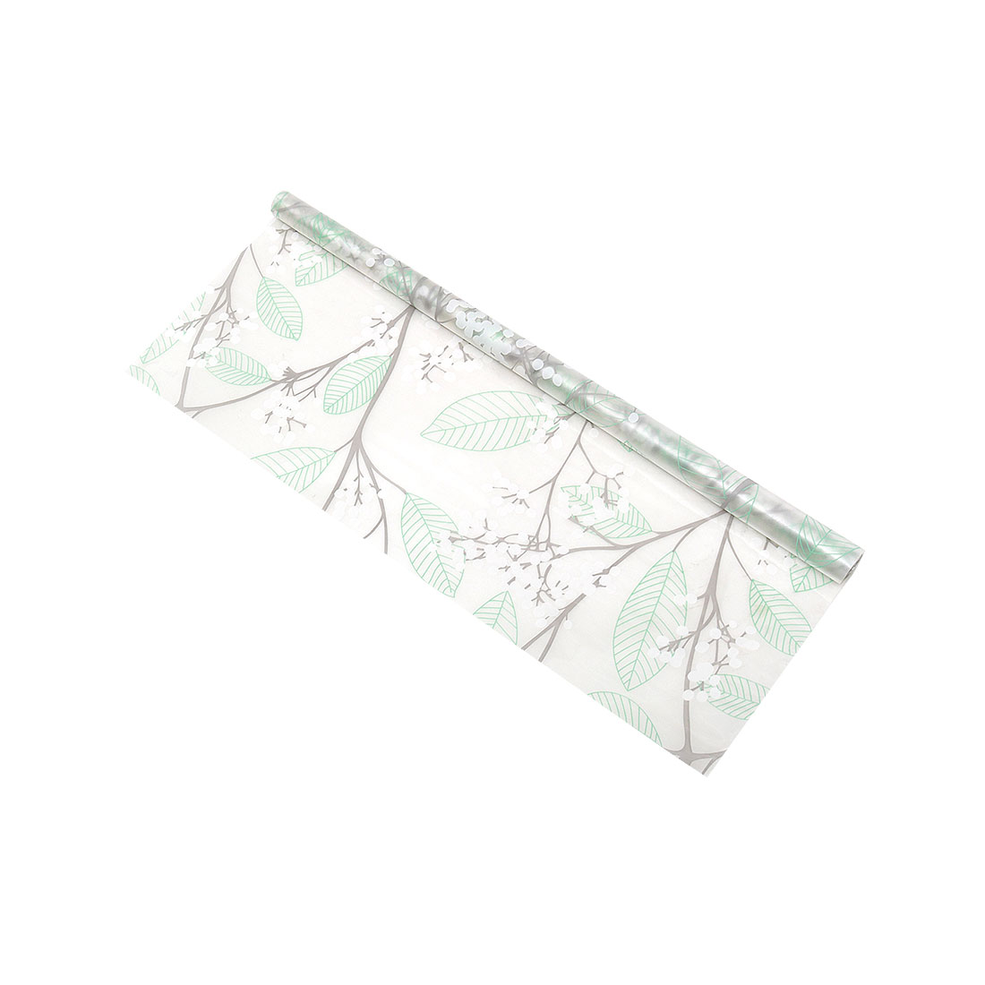 PVC 23.6 x 78.7 Inch Anti UV Glass Window Film Sticker Flower Tree Pattern