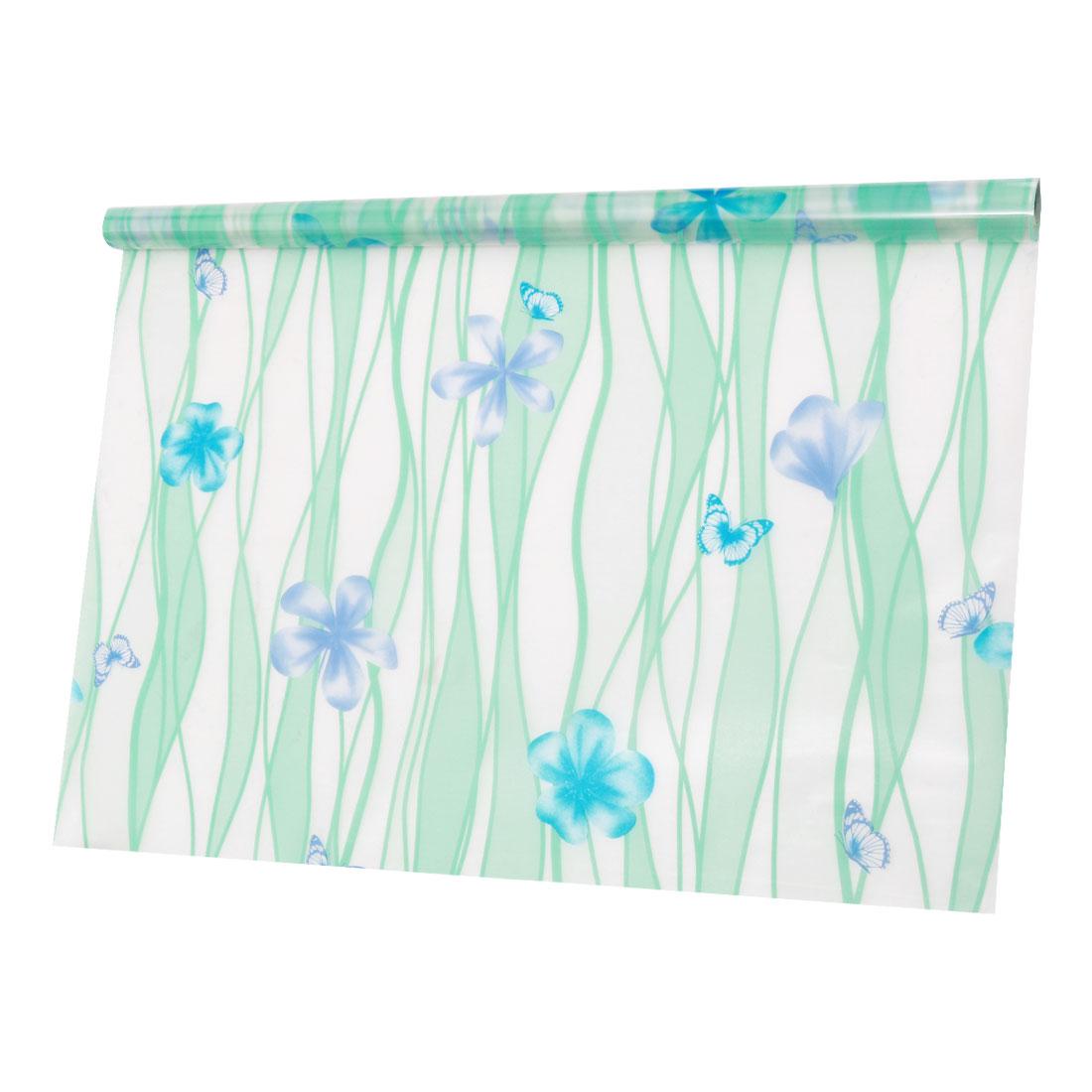 PVC 23.6 x 78.7 Inch Anti UV Glass Window Film Sticker Butterfly Pattern