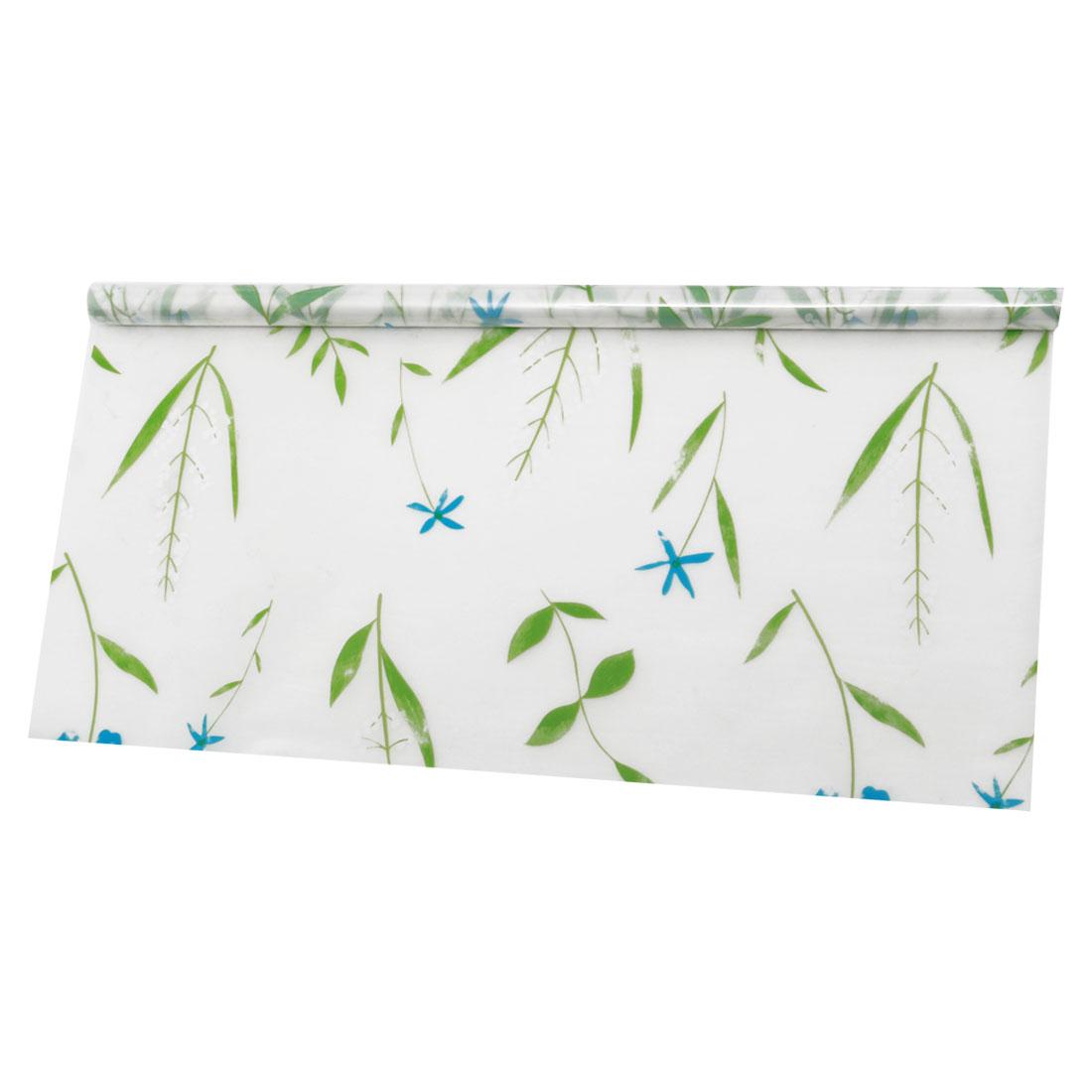 "Self-sticky 23.6"" x 78.7"" Water Resistant Window Film Grass Pattern"