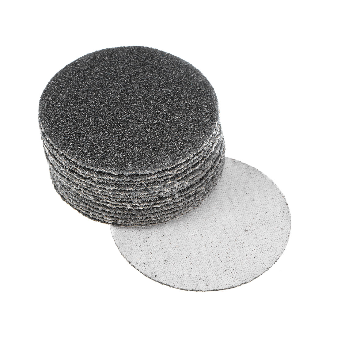 2 inch Wet Dry Discs 60 Grit Hook and Loop Sanding Disc Silicon Carbide 15pcs