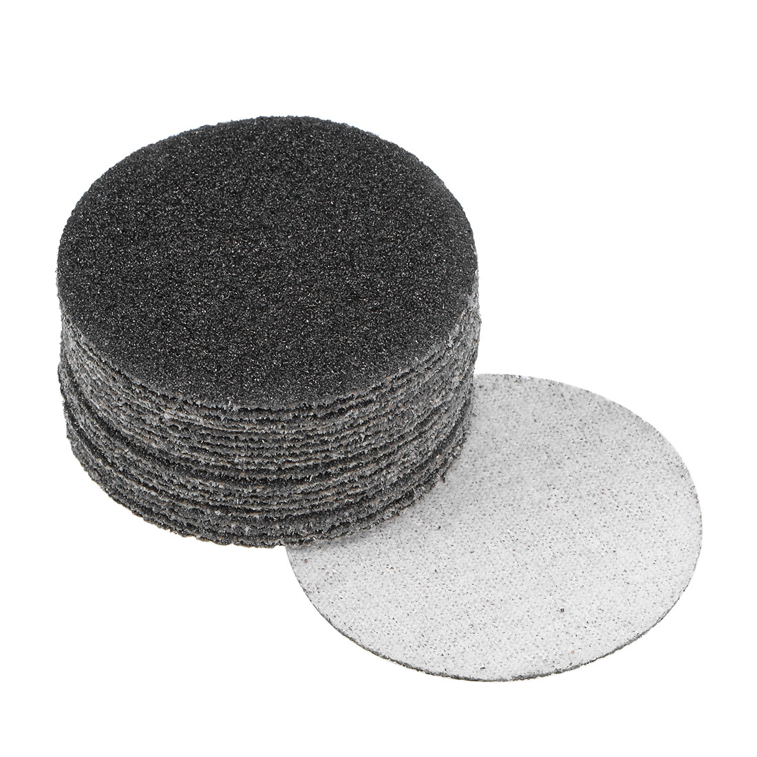 2 inch Wet Dry Discs 60 Grit Hook and Loop Sanding Disc Silicon Carbide 20pcs