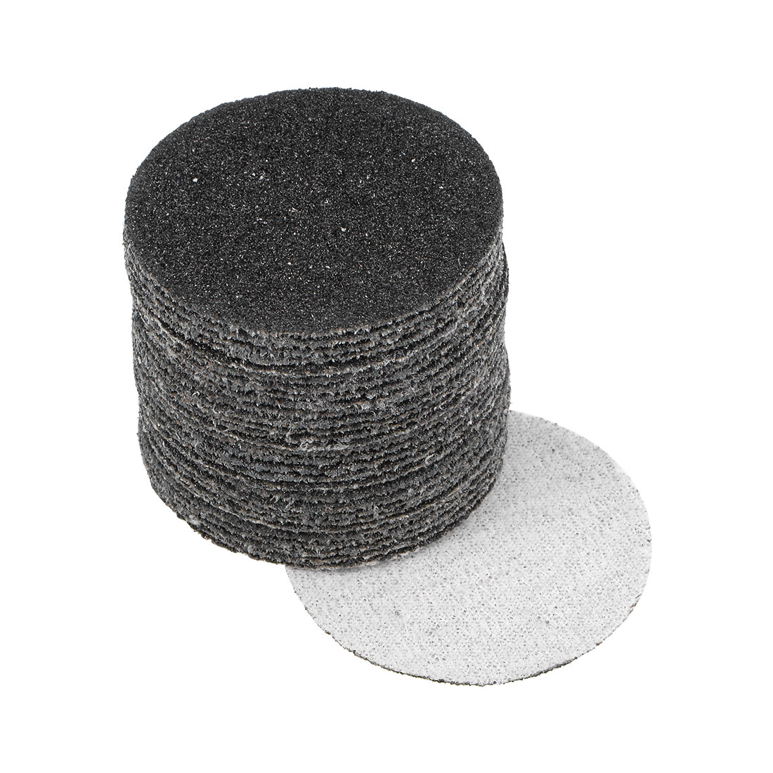2 inch Wet Dry Discs 60 Grit Hook and Loop Sanding Disc Silicon Carbide 30pcs