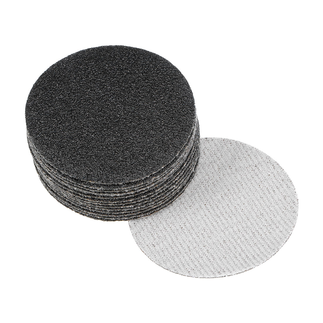 2 inch Wet Dry Discs 80 Grit Hook and Loop Sanding Disc Silicon Carbide 15pcs
