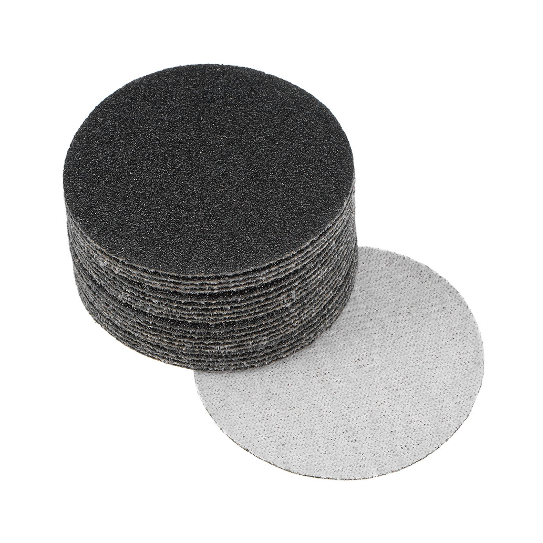 2 inch Wet Dry Discs 80 Grit Hook and Loop Sanding Disc Silicon Carbide 20pcs