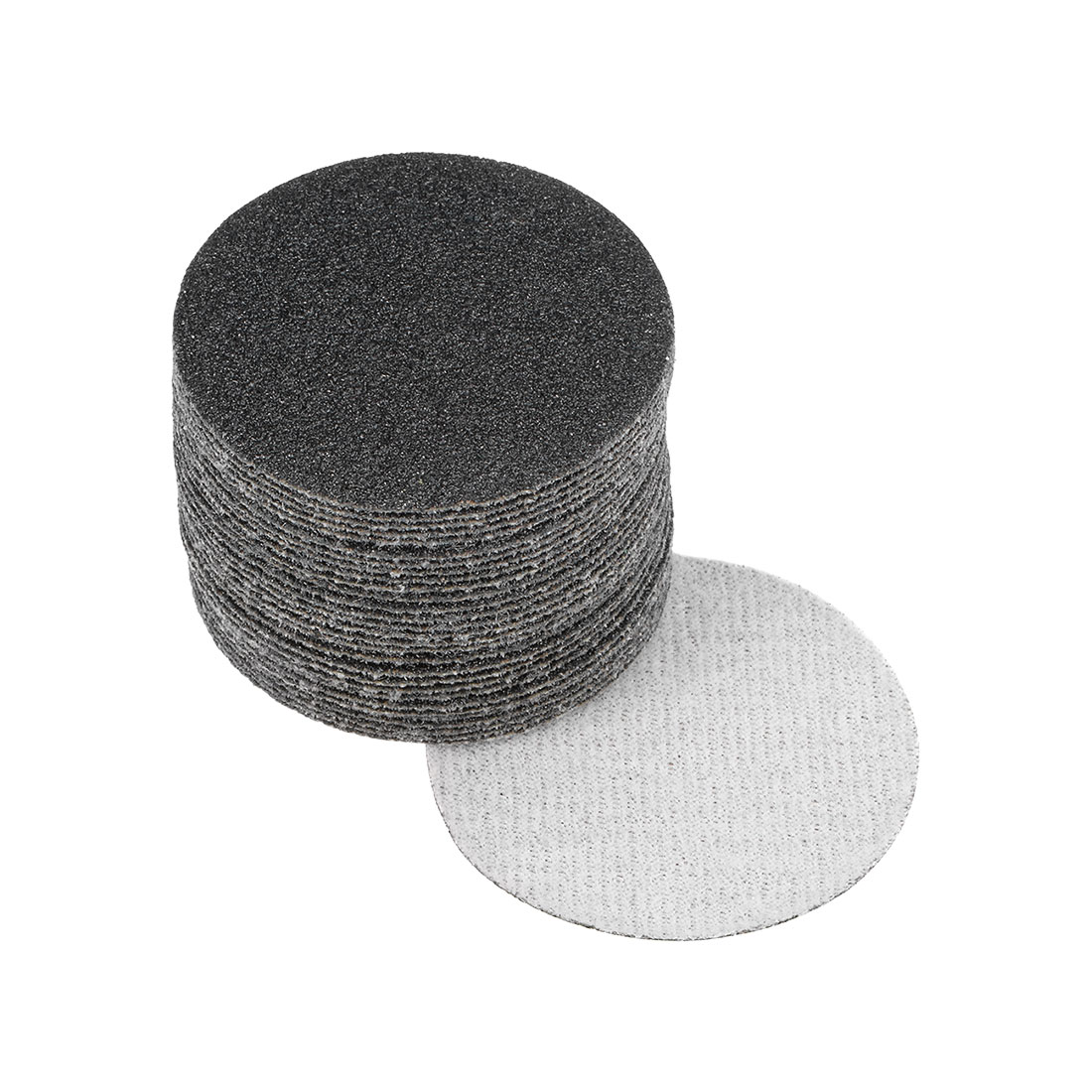 2 inch Wet Dry Discs 80 Grit Hook and Loop Sanding Disc Silicon Carbide 30pcs