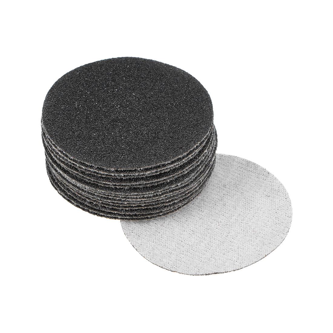 2 inch Wet Dry Discs 100 Grit Hook and Loop Sanding Disc Silicon Carbide 15pcs