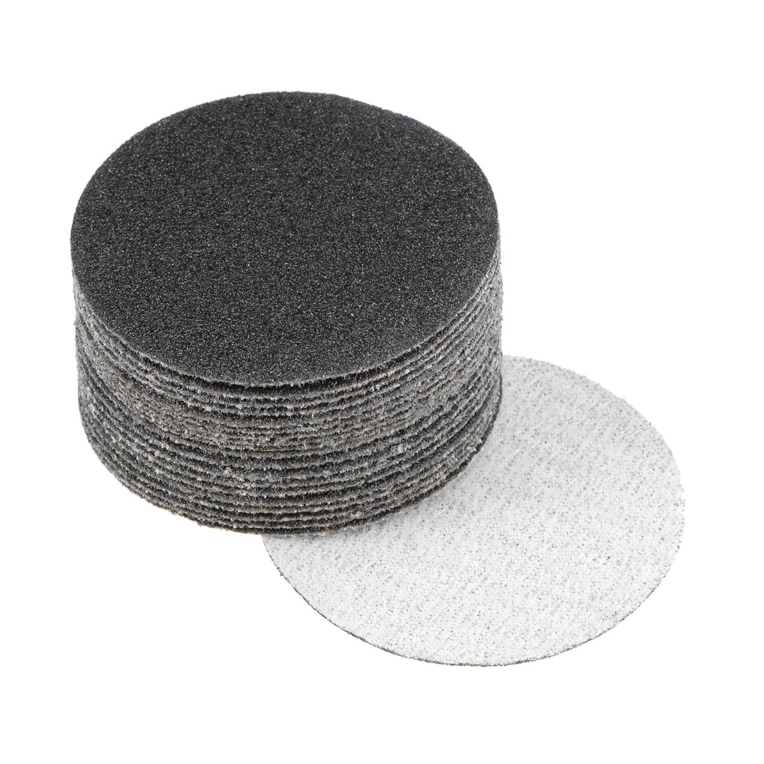 2 inch Wet Dry Discs 100 Grit Hook and Loop Sanding Disc Silicon Carbide 20pcs