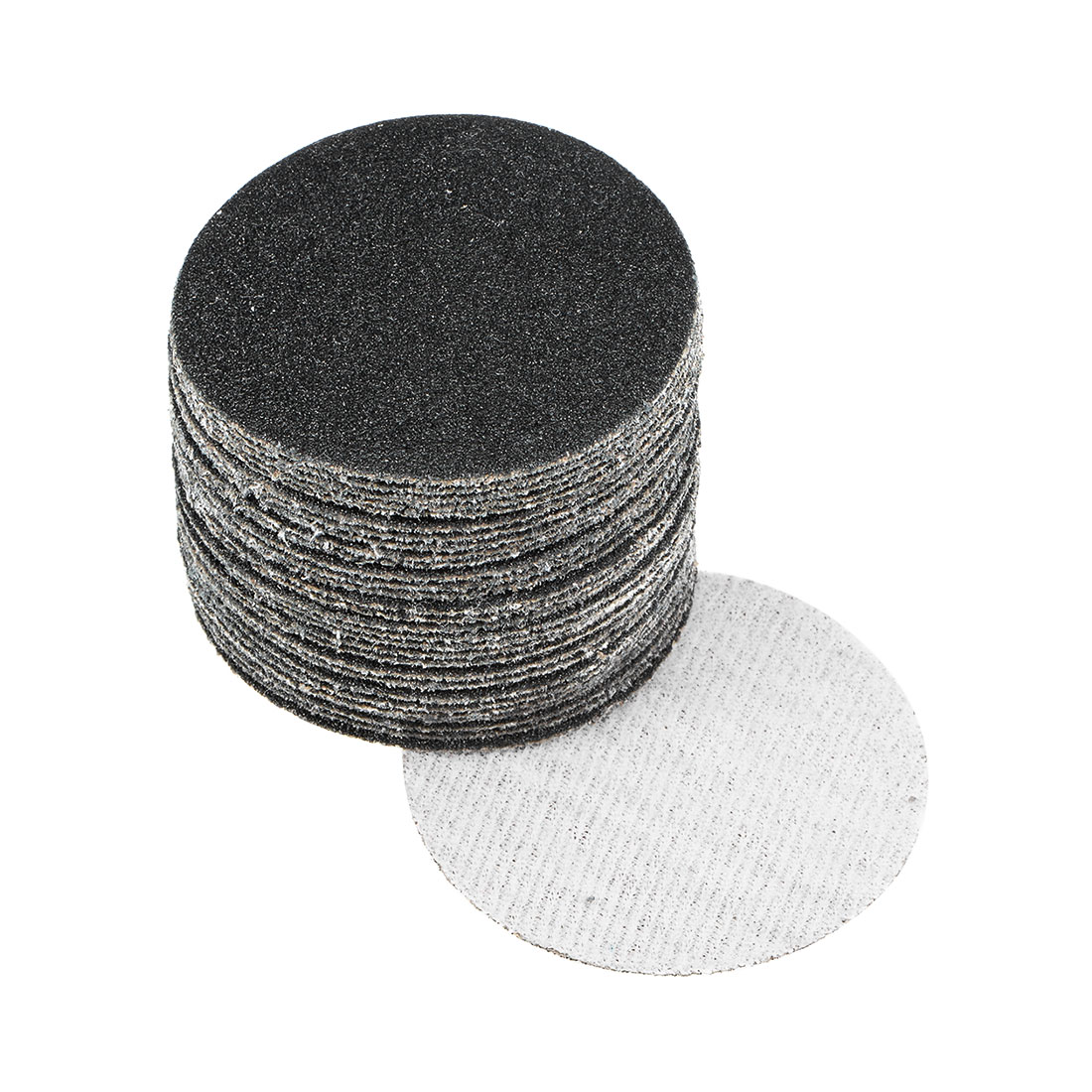 2 inch Wet Dry Discs 100 Grit Hook and Loop Sanding Disc Silicon Carbide 30pcs