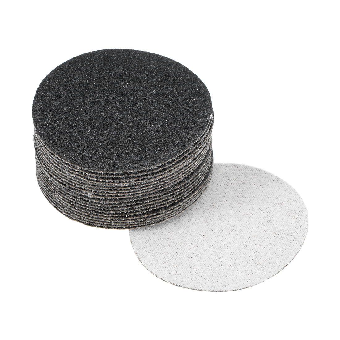 2 inch Wet Dry Discs 120 Grit Hook and Loop Sanding Disc Silicon Carbide 20pcs