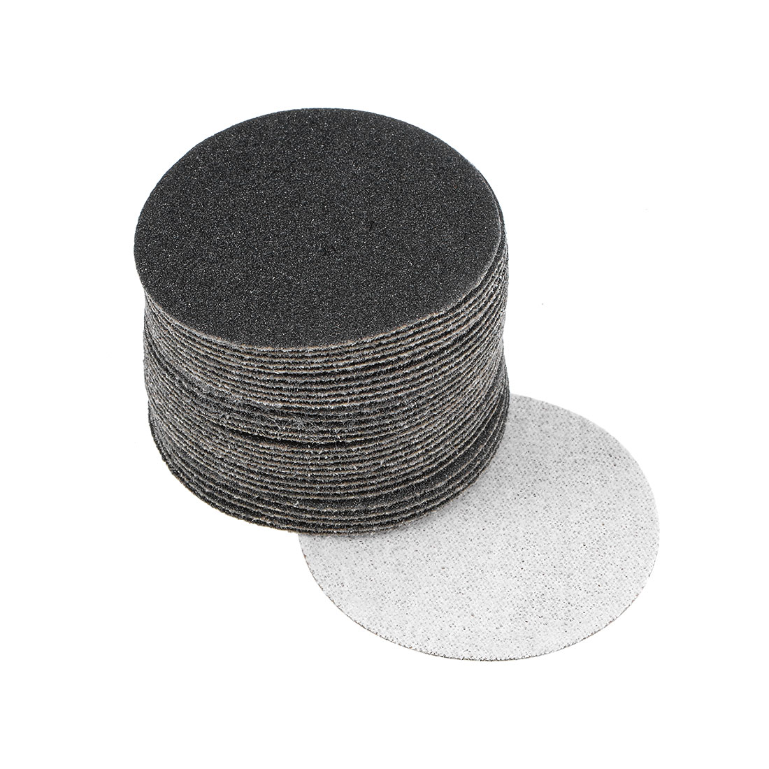2 inch Wet Dry Discs 120 Grit Hook and Loop Sanding Disc Silicon Carbide 30pcs