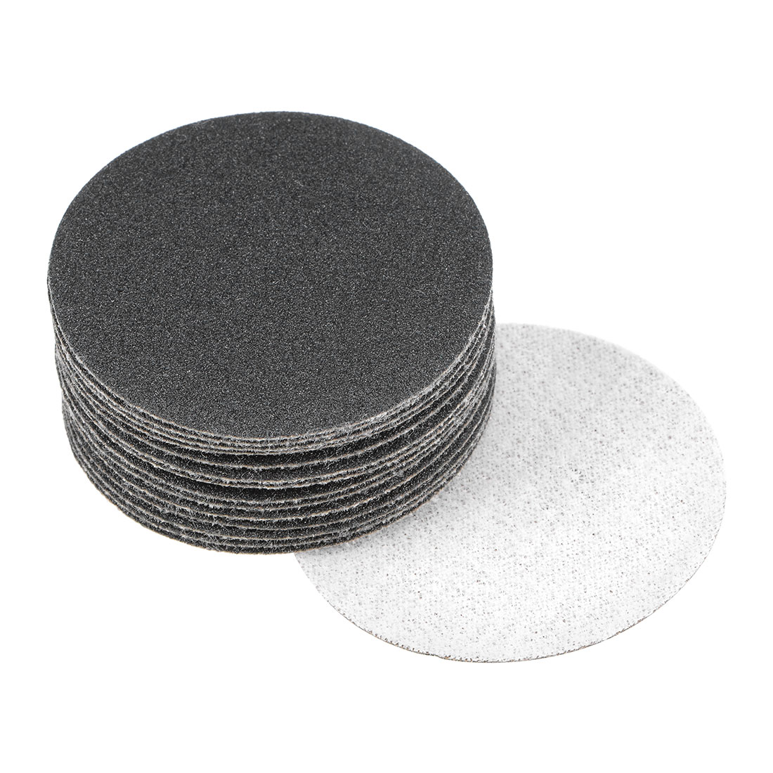 2 inch Wet Dry Discs 150 Grit Hook and Loop Sanding Disc Silicon Carbide 15pcs