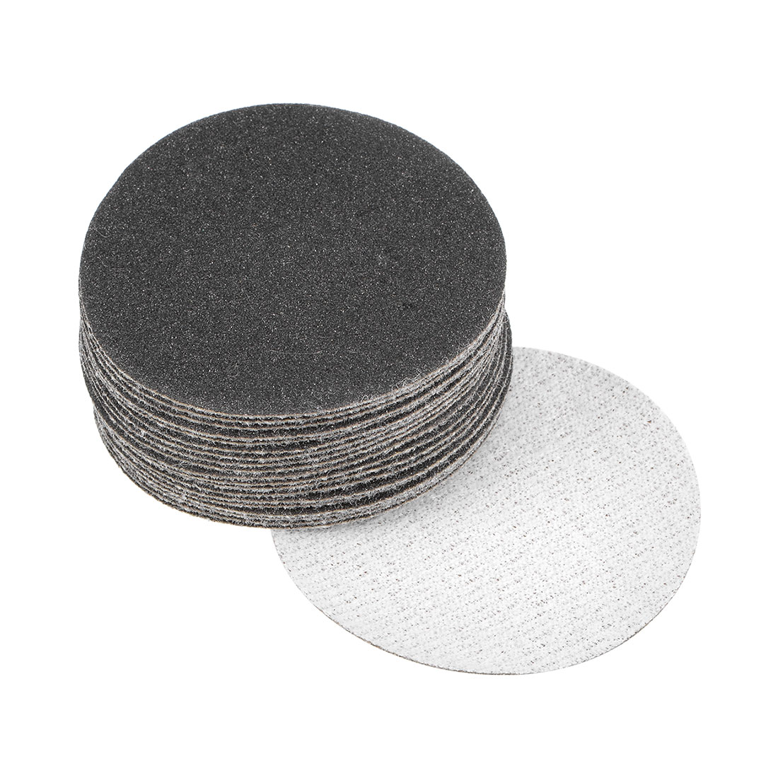 2 inch Wet Dry Discs 180 Grit Hook and Loop Sanding Disc Silicon Carbide 15pcs