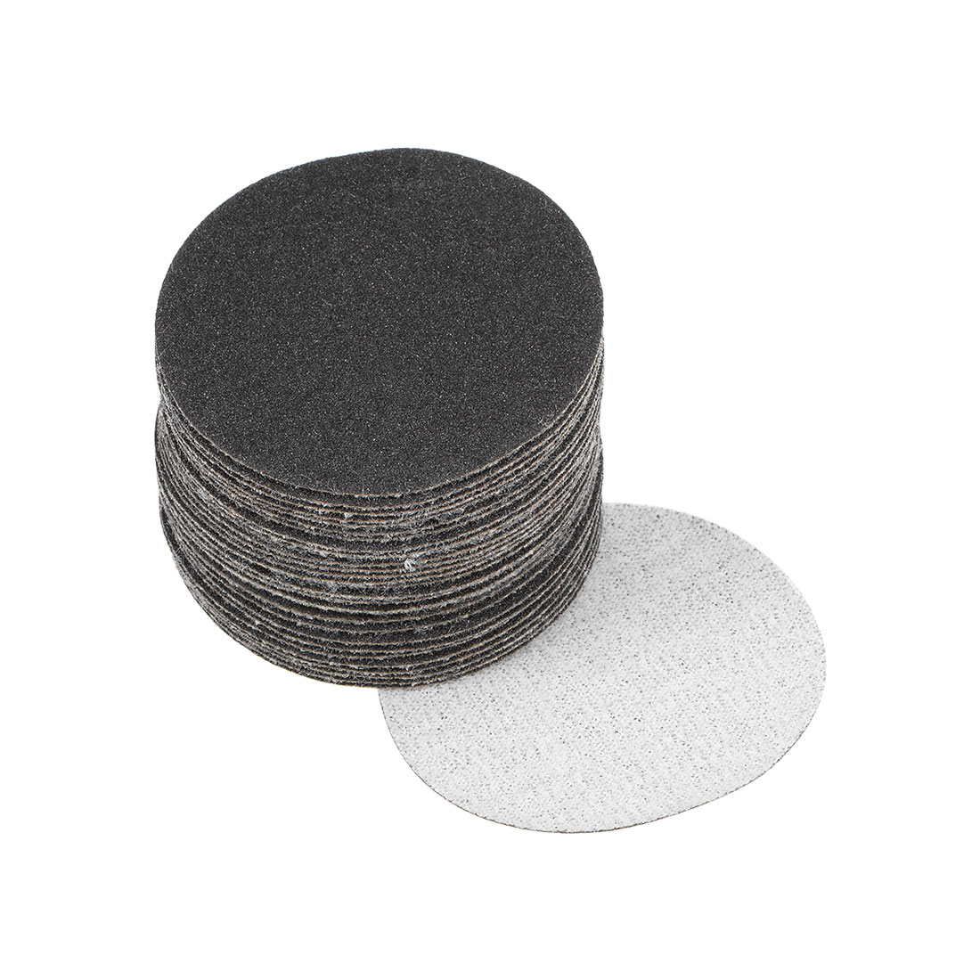 2 inch Wet Dry Discs 180 Grit Hook and Loop Sanding Disc Silicon Carbide 30pcs