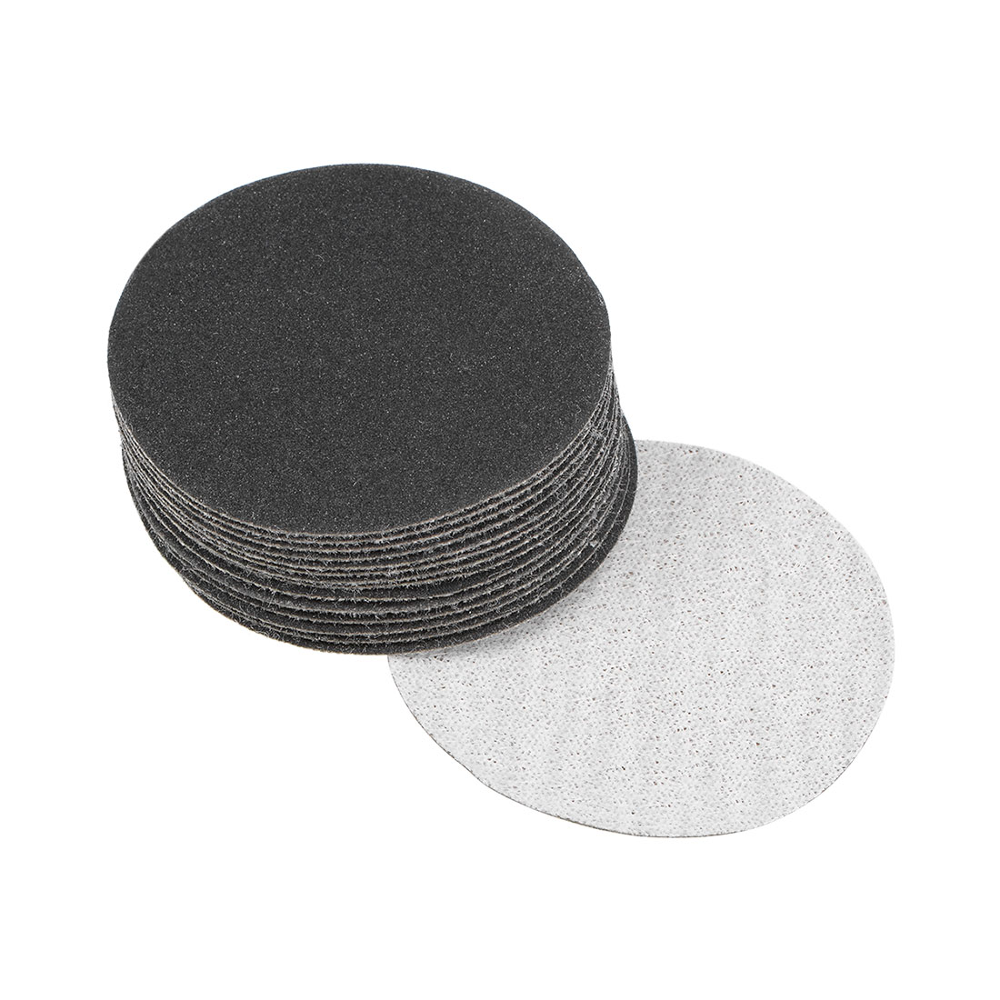 2 inch Wet Dry Discs 240 Grit Hook and Loop Sanding Disc Silicon Carbide 15pcs