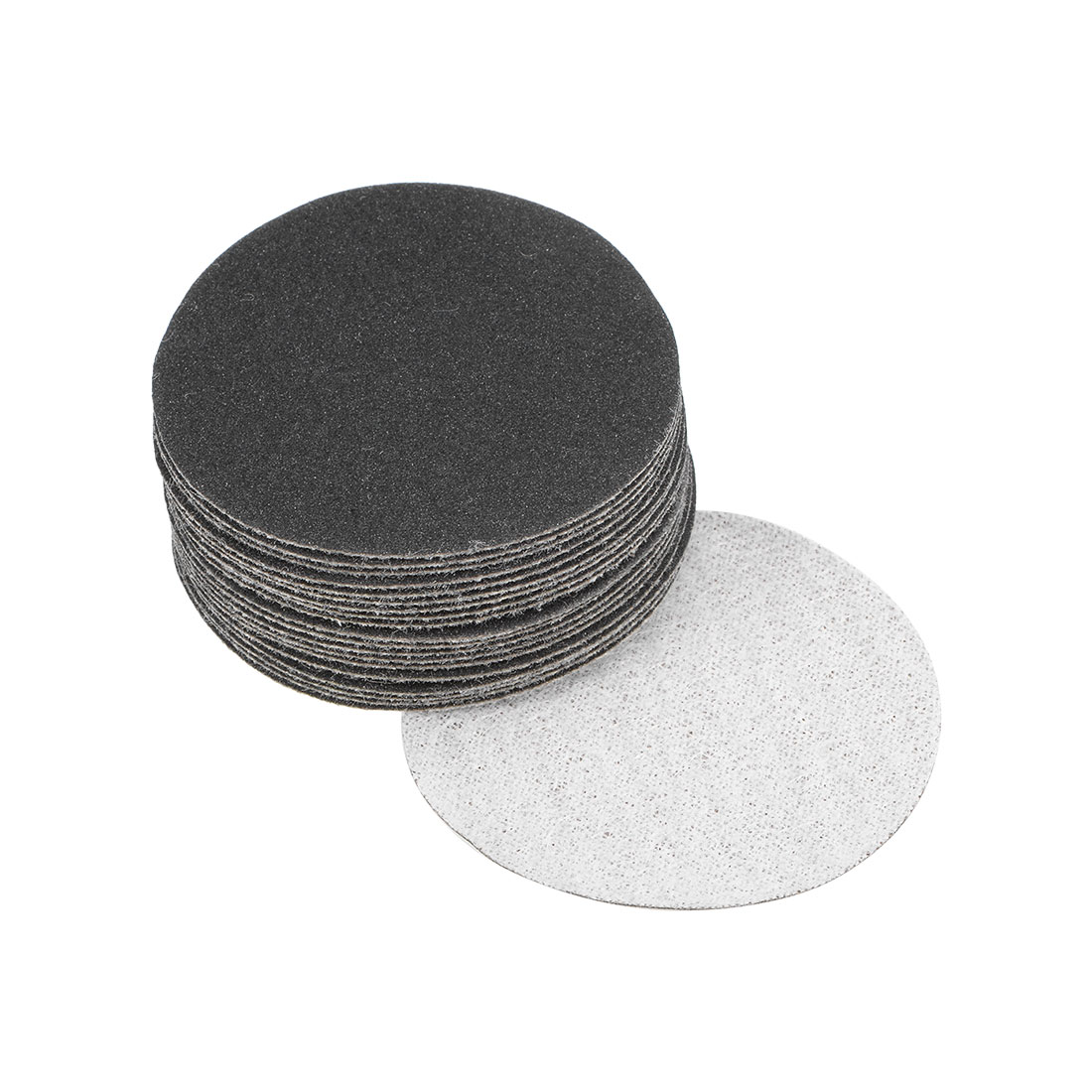 2 inch Wet Dry Discs 240 Grit Hook and Loop Sanding Disc Silicon Carbide 20pcs