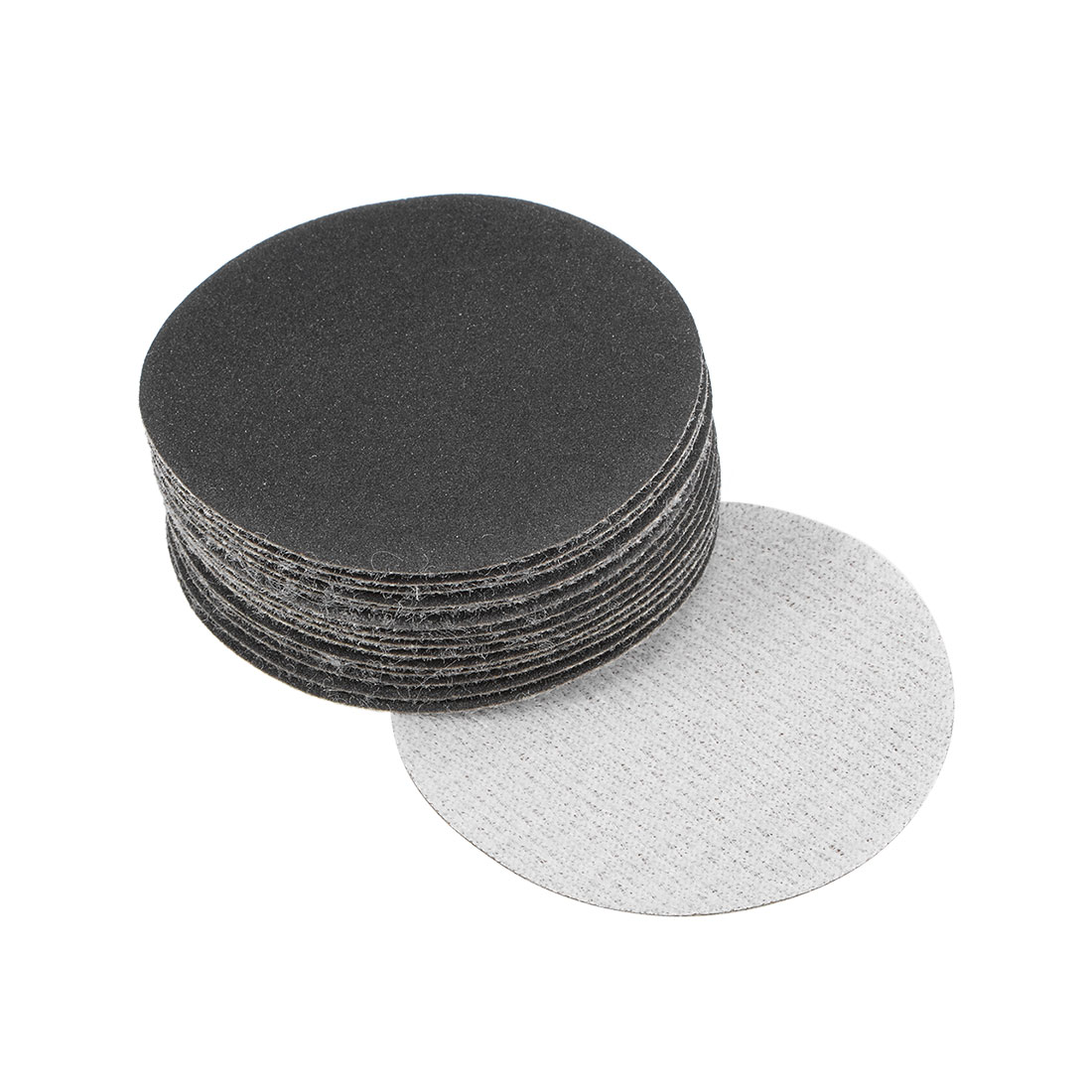 2 inch Wet Dry Discs 320 Grit Hook and Loop Sanding Disc Silicon Carbide 15pcs