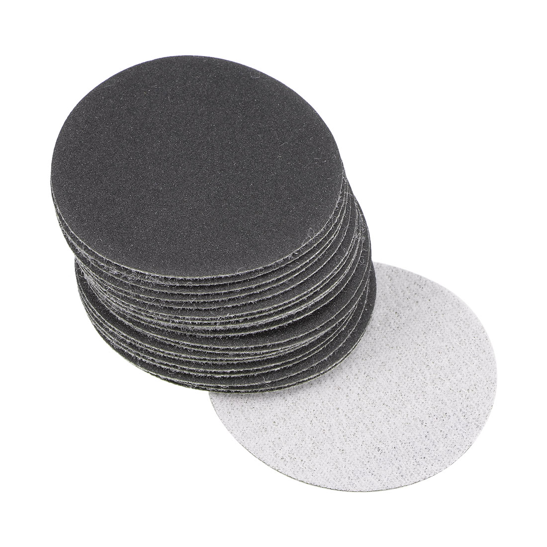 2 inch Wet Dry Discs 400 Grit Hook and Loop Sanding Disc Silicon Carbide 20pcs
