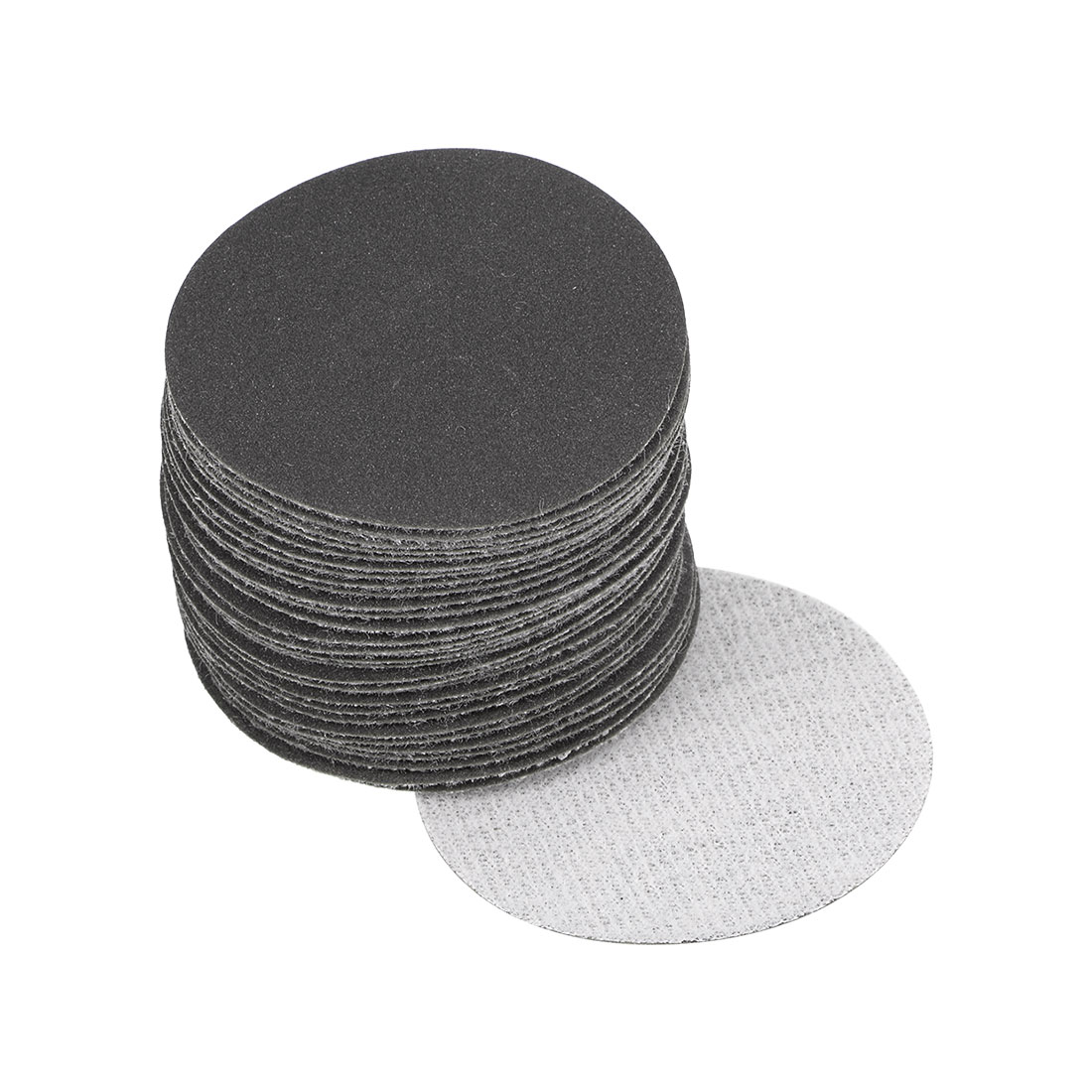 2 inch Wet Dry Discs 400 Grit Hook and Loop Sanding Disc Silicon Carbide 30pcs
