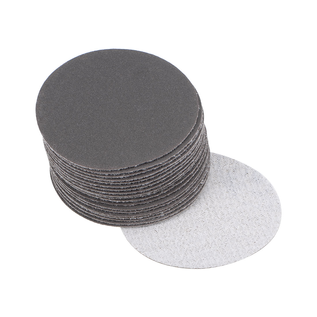 2 inch Wet Dry Discs 600 Grit Hook and Loop Sanding Disc Silicon Carbide 20pcs
