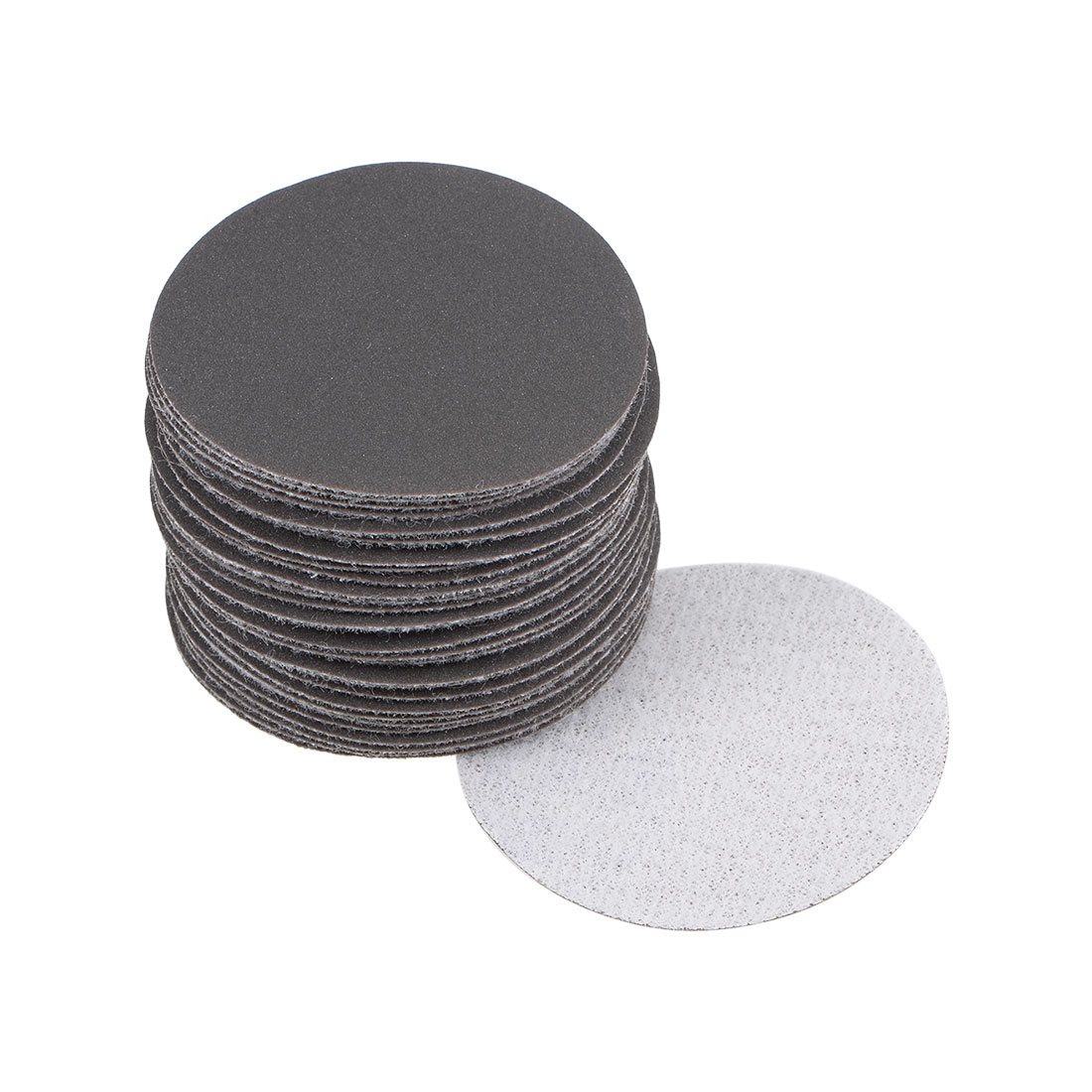 2 inch Wet Dry Discs 600 Grit Hook and Loop Sanding Disc Silicon Carbide 30pcs