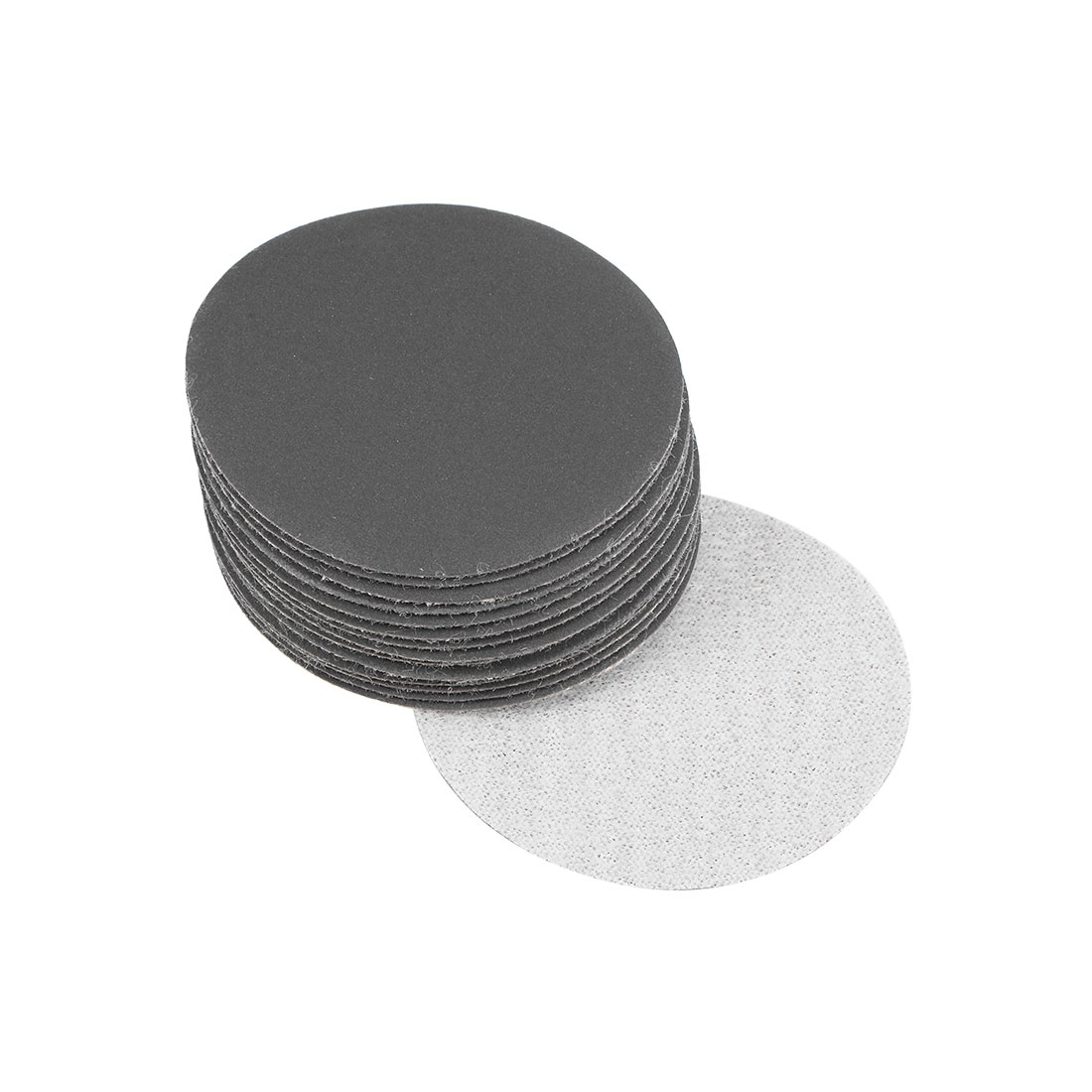 2 inch Wet Dry Discs 800 Grit Hook and Loop Sanding Disc Silicon Carbide 15pcs
