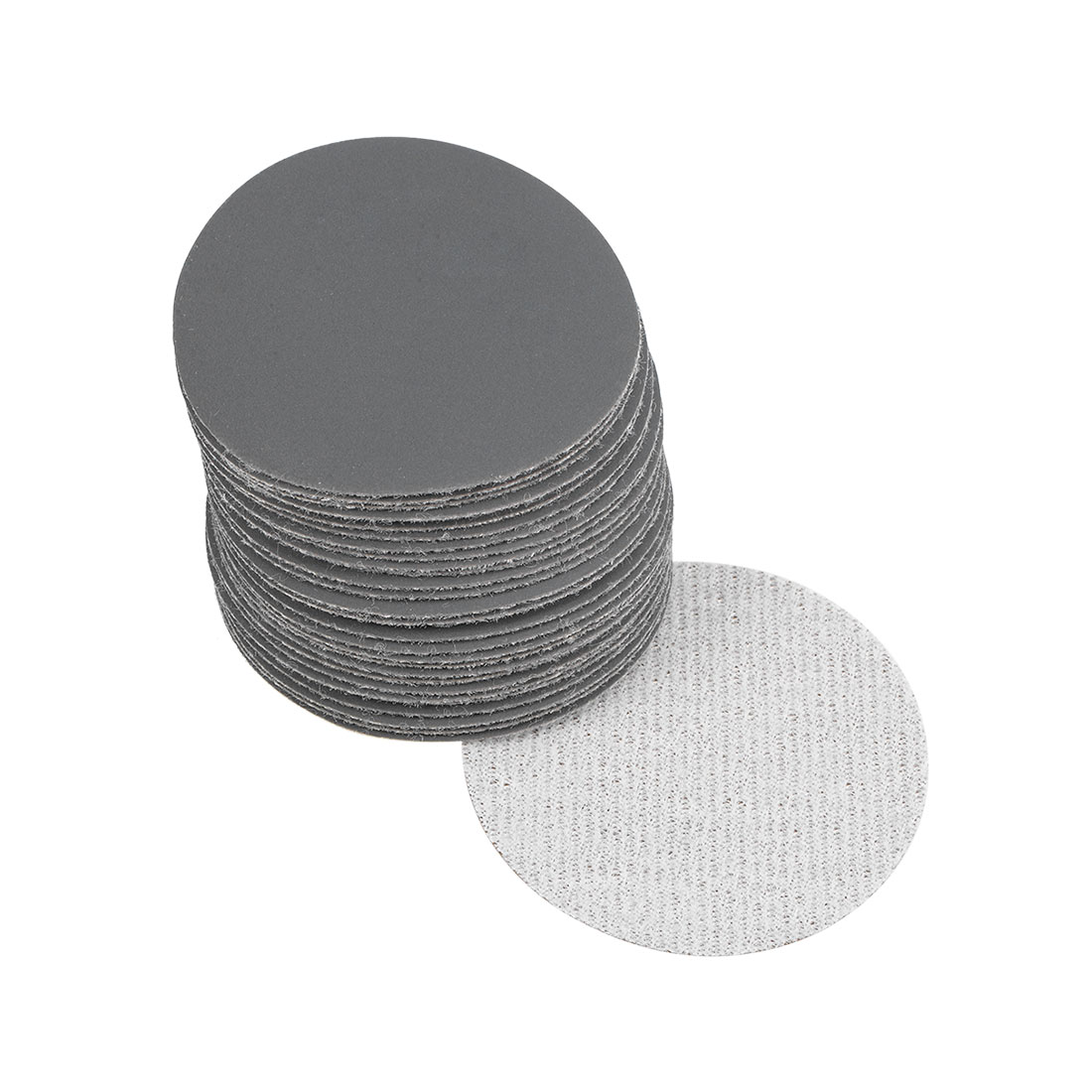 2 inch Wet Dry Discs 1500 Grit Hook and Loop Sanding Disc Silicon Carbide 30pcs