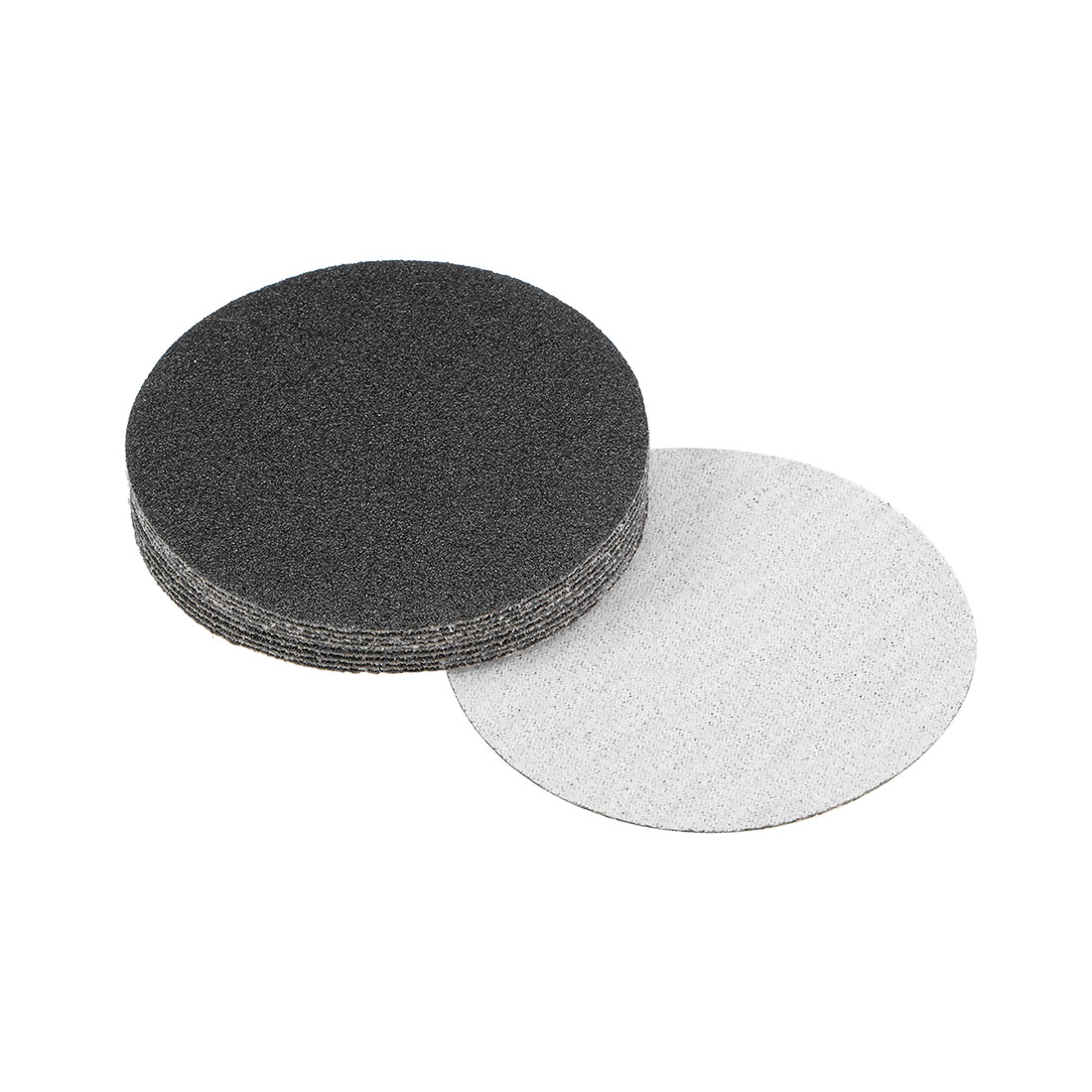 3 inch Wet Dry Discs 60 Grit Hook and Loop Sanding Disc Silicon Carbide 10pcs